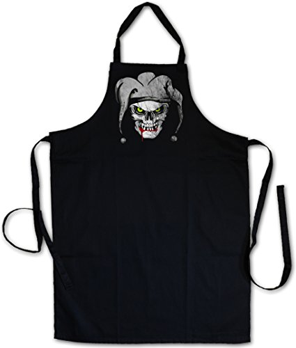 Urban Backwoods Joker Skull I Delantal De La Cocina