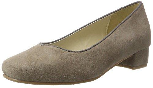 HIRSCHKOGEL 3005701, Zapatos de Tacón con Punta Cerrada para Mujer, Negro (Schwarz 002), 42 EU