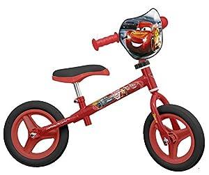 TOIMSA-Bicicleta sin Pedales para niños bajo Licencia Cars 310Pulgada (de 2a 3años, 122
