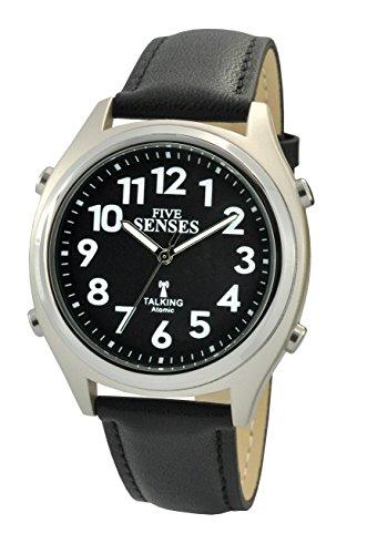 Atomic Talking Watch–setzt sich Fünf Sinne Unisex Sprechende Armbanduhr (sens-rctk-p201–19) - Atomic Radio Clock Digitale