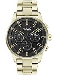 HUGO Quartz Montre avec Bracelet en Acier Inoxydable 1530152