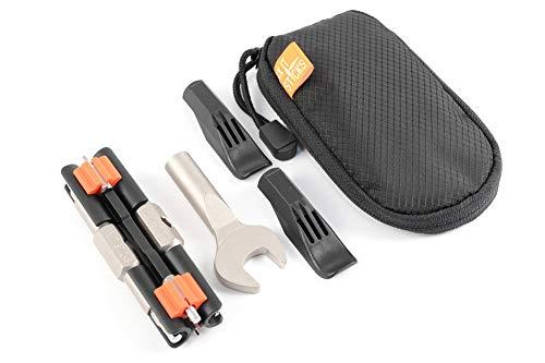 Fix It Sticks FIS-CKA Kit de conmutador - Edición reemplazable con Brocas, Llave de Tuerca de Eje y Funda de Transporte