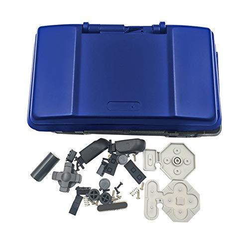 Hzjundasi Ersatz Hülle für Nintendo DS Konsole - Ersetzen Decken Anti Kratzen Etui mit Stift Zubehör für Nintendo DS Spiel Konsole (Blau)