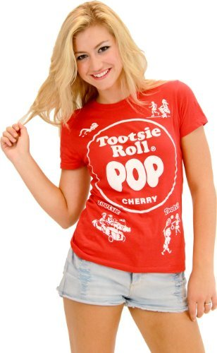 Tootsie Roll Pop Assorted Cherry rot Kostüm T-Shirt -