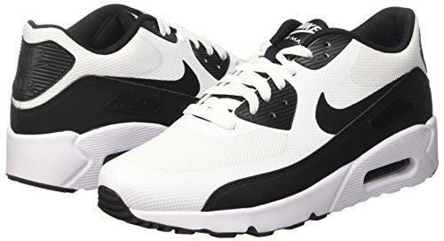 Nike Herren Air Max 90 Ultra 2.0 Essential Laufschuhe, Mehrfarbig (White/Black/White), 43 EU - 5