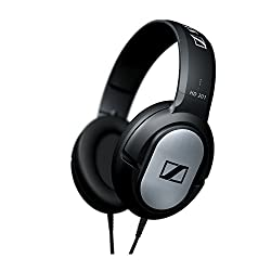 Sennheiser HD 201 Comfortable Lightweight Over Ear Headphone
