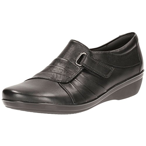 Clarks Everlay Luna Womens Casual Shoes 7.5 Black