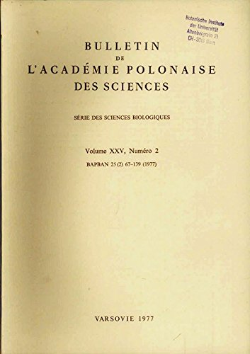Enzymic Synthesis of Ethanolamine Plasmalogens in the Microsomal Fraction of Rat Brain under Oxygen Deficiency, in: BULLETIN DE L'ACADEMIE POLONAISE DES SCIENCES, Vol. XXV, No. 2, 1977.