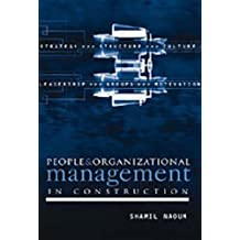 People and Organizational Management in Construction