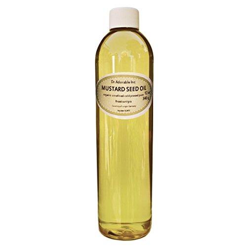Mustard Seed Oil 12 Oz