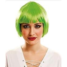 My Other Me - Peluca corta, color verde (Viving Costumes 202513)