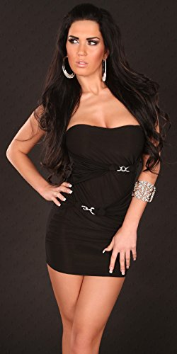 In-Stylefashion -  Vestito  - Donna Nero