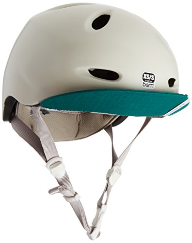 Bern Damen Berkeley Urban Fahrrad Helm, Satin Ivory, XS/S