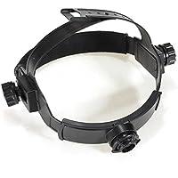 ChaRLes Solar Auto Oscurecimiento Soldador Máscara Headbrand Auto Casco Oscuro Accesorios