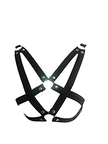 Add Health Damen Pentagramm Harness Strappy Geschirr Pentagramm Knechtschaft BH (048)