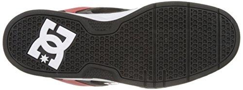 DC - Herren Rival Skate Schuhe Black/Red