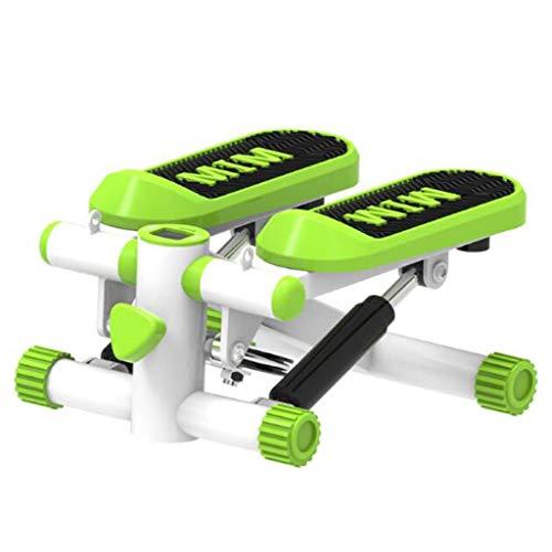 ellittiche sport macchina passo-passo stepper stepper rope regolazione della gamba macchina macchina per il fitness aerobico (color : green, size : 30 * 38 * 18cm)