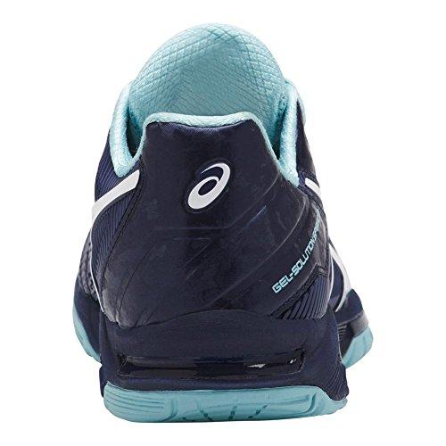 Gel Blu Solution® Donne Scarpe Asics Porcellana Velocità Indaco Bianco Blu 3 UwvE5Eq