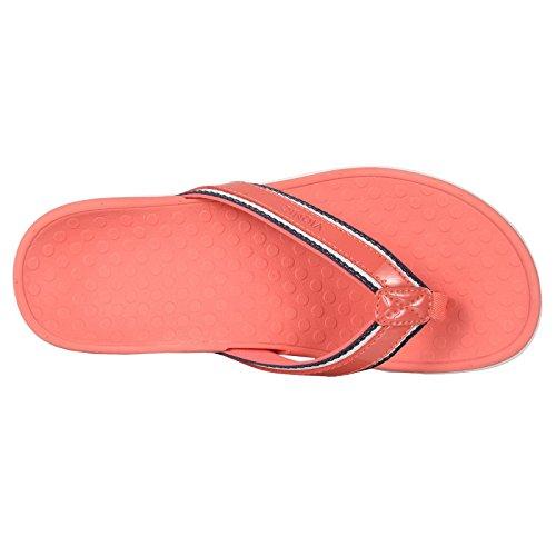 deed80a18f19 Vionic Womens Islander Tide Sport Coral Leather Sandals 40 EU