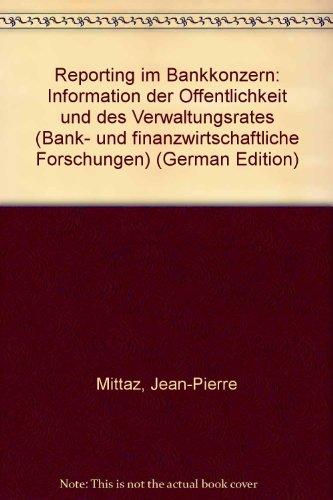 Reporting im Bankkonzern