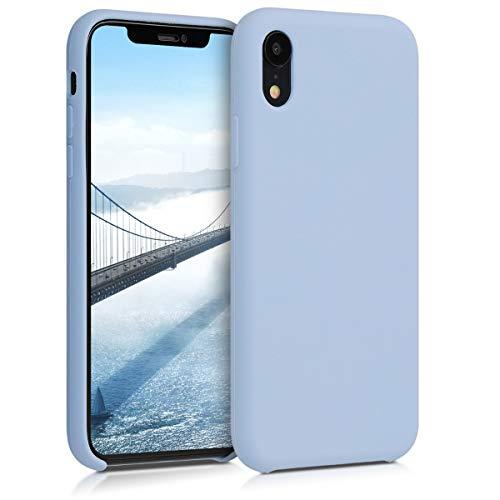 kwmobile Apple iPhone XR Hülle - Handyhülle für Apple iPhone XR - Handy Case in Hellblau matt