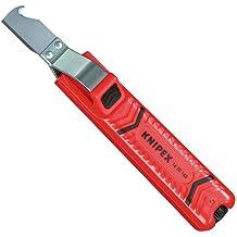 Knipex 16 20 165 SB - Pelamangueras carcasa de plástico resistente a los golpes, 165 mm