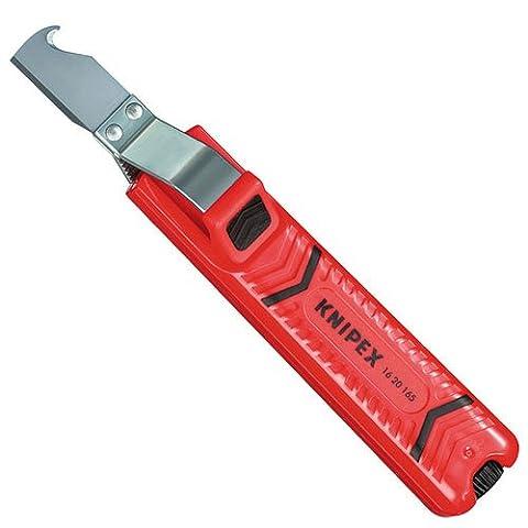 KNIPEX 16 20 165 SB Outil à dégainer boîtier en plastique résistant aux chocs 165 mm