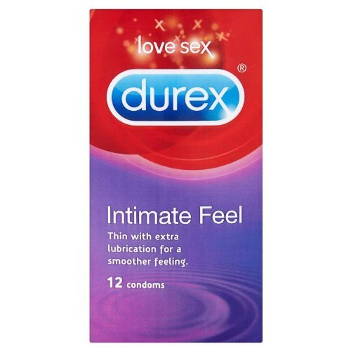 Durex Intimate Feel Condom - Pack of 12