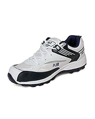 Hytech Mens Air White Blue Running Sports Shoes (10)