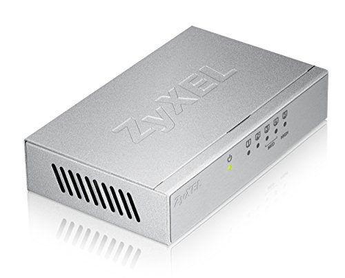 Zyxel 5-port Desktop Gigabit Ethernet Switch  – Metallgehäuse [GS-105BV3