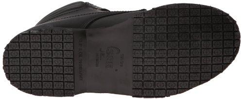 Skechers For Work 77026 Grip Slip Boot acier résistant Toe de travail Black