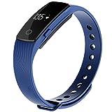 YL Bracelet Tactile De Détection De Fréquence Cardiaque Bracelet Sport Bluetooth , Blue,blue