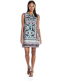 Tribal womens  Isle of Capri Printed Dress sleeveless Dress