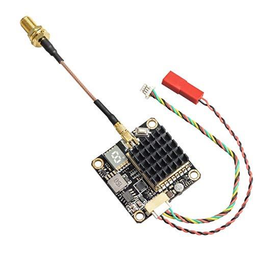 JINHUGU FX2-Dominator 250mW / 500mW / 1000mW / 2000mW Geschalteter Smart Audio 5,8GHz 40CH FPV Sender Raceband Sender mit Mikrofon for RC Racing Drone Spielzeugzubehör 6p-audio-kabel
