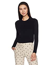 Forever 21 Womens Body Blouse Rayon Pullover (00180458042_0018045804_Black_2)