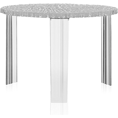 Kartell T-table, cristal