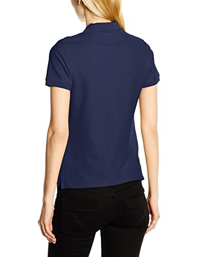 Fruit of the Loom Damen Poloshirt Blau - Blau (Marineblau)