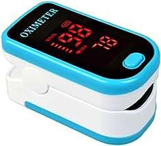 Tochange Oxímetro de Pulso de la yema del Dedo, Pantalla LED OLED Oxidación de oxígeno