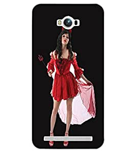 ASUS ZENFONE MAX BEAUTIFUL GIRL Back Cover by PRINTSWAG