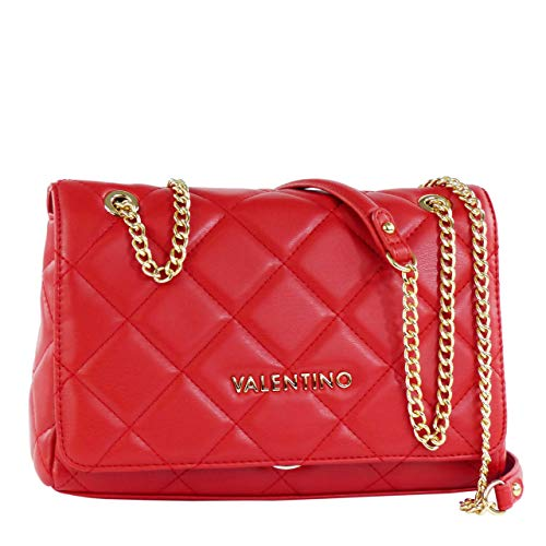 Valentino by Mario Ocarina, Sacs bandoulière femme, Rouge (Rosso), 9x17x25.5 cm (B x H T)
