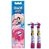 Braun Oral-B Stages Power Kids Aufsteckbürsten Princess 2er Pack Bürstenköpfe Kinder EB10-2K Prinzessin Cinderella