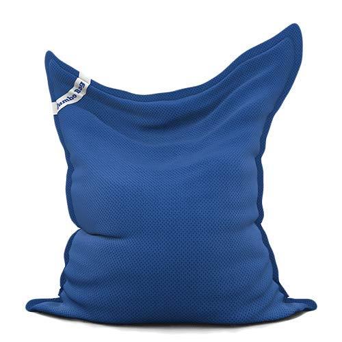 Jumbo Bag 30070-09 Pouf Flottant Polyester Bleu Foncé 170 x 130 x 30 cm