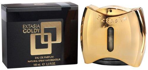 Nuovo marchio Profumi prestige-made in Belgio Extasia goldy-perfume per women-3.3oz-edp-version di Guilty By Gucci