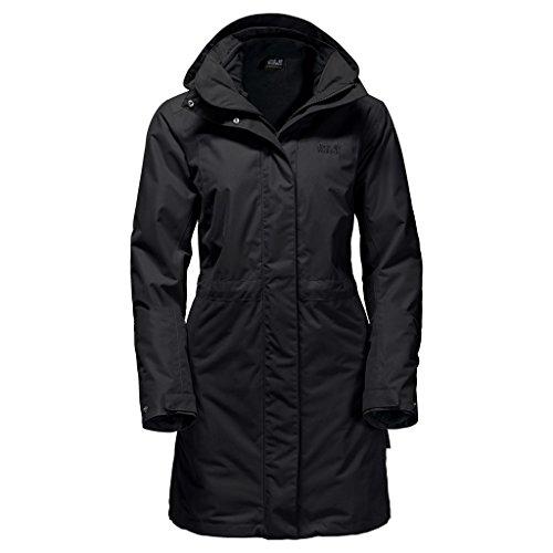 Jack Wolfskin Damen Ottawa Coat, Damen, schwarz, XX-Large