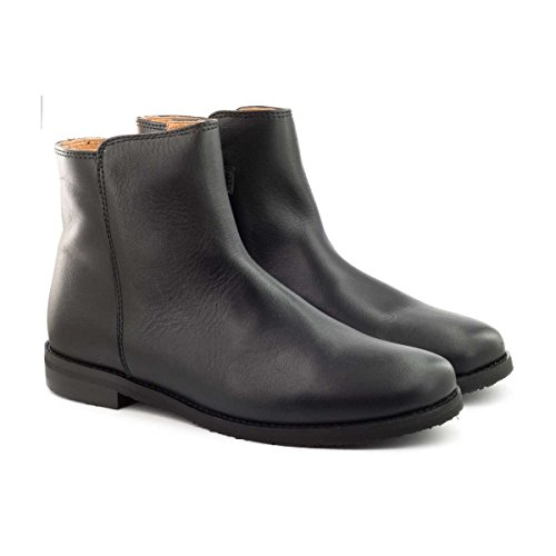 Boni Houston - boots enfant en cuir noir