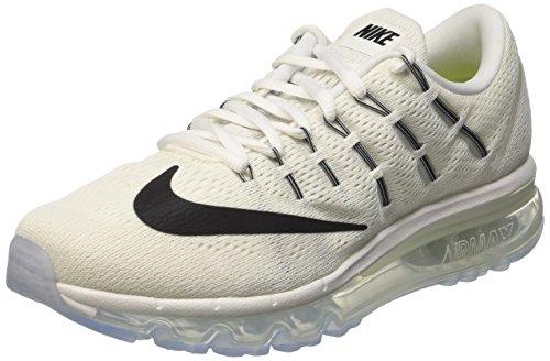 Nike Wmns Air Max 2016, gymnastique femme Blanc (Summit Blanc/Noir-Blanc)