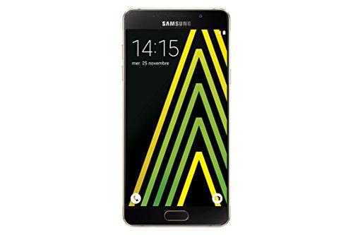 Samsung Galaxy A5 Smartphone débloqué 4G (Ecran: 5,2 pouces - 16 Go - Simple Nano-SIM - Android) Or