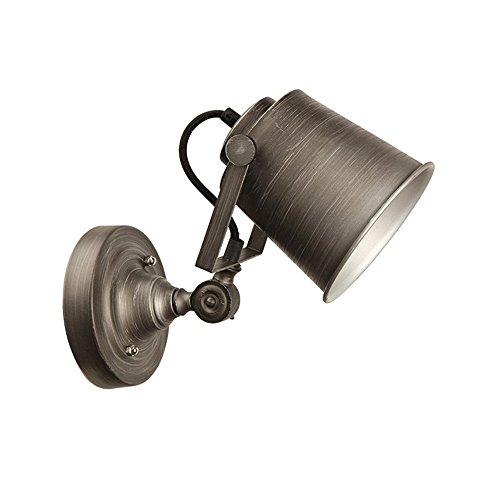 Kaffee Kleidungsstück (DengWu Wandbeleuchtung Verstellbare Eisen Bettwäsche Kleidungsstück Kaffee Bar Persönliche Treppe Wand Lampe Wandleuchte Creative Balkon Wandleuchte, 12 * 25 * 13cm)