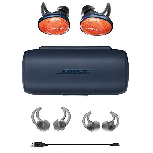 Bose Sound Sport Free Truly Wireless Headphones (Brilliant Orange) Image 4