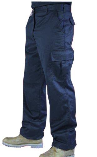 mens-cargo-combat-work-trousers-sizes-28-52-workwear-pants-32w-31-reg-leg-navy-blue